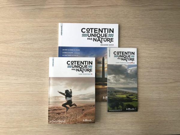 Brochures 2019 de l'Office de Tourisme du Cotentin