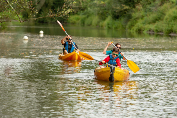 Sortie kayak en rivière