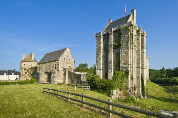 Chateau Saint-sauveur-le Vicompte