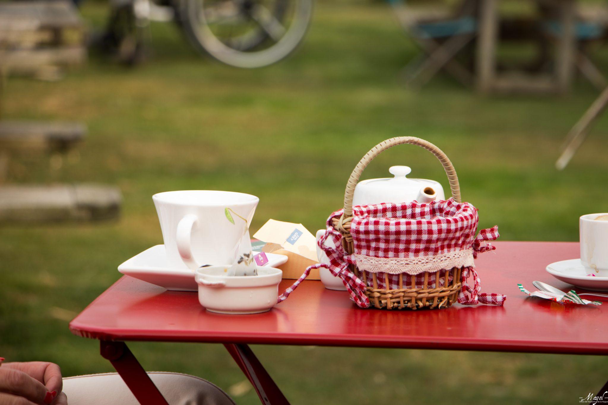 Halte gourmande au salon de thé