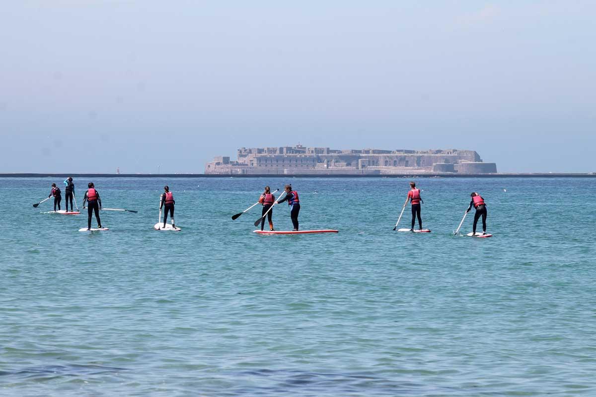 Kayak et Stand Up Paddle auprès de la grande rade de Cherbourg